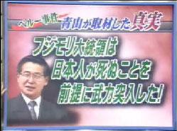 青山繁晴:トンデモ候補