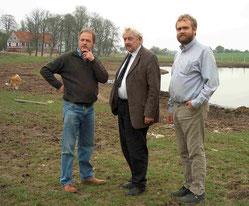 mit Gorm Benzon (Erhalter der gesamten historischen Vielfalt alter Dänischer  Nutztierrassen) & Stig Benzon