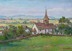 Nr.0306  Kirche Bargen b. Aarberg