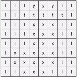 mozaiki literowe