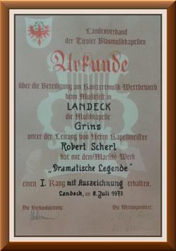 MK-Grins, Konzertmusik-Bewertung 1973