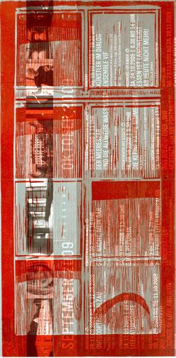 SALZAU (ROT)  2009  40 x 20 cm