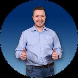 Berater Tino Vertrieb O2 Guru Blau Festnetz Mobilfunk Geschäftskunden Business Consors Finanz Assurant Service