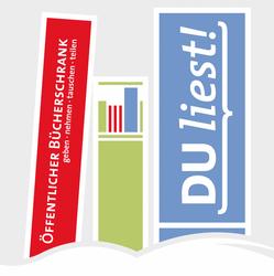 """Logo """"DU liest!"""""""
