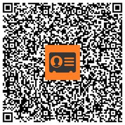 Unsere Praxisadresse: Einfach mit dem Smartphone scannen und speichern!