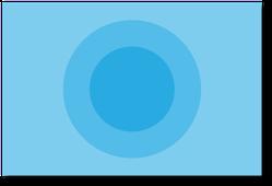 円形に変形したり、それがクルっと回ったりするアニメーションです。