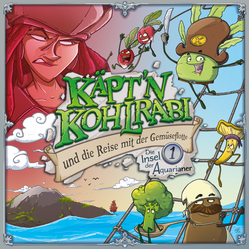 CD Cover Käpt´n Kohlrabi Folge 1