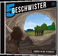 CD Cover 5 Geschwister - Steinzeit