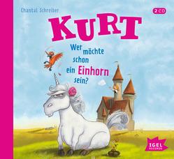 CD Cover - Kurt, wer möchte schon ein Einhorn sein?