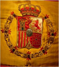 Foto de la bandera del Tercio de Montejurra