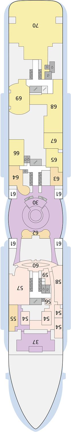 AIDAnova Deck 6 | © AIDA Cruises