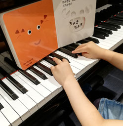 マンツーマンピアノリトミック 絵本 うみのいきものかくれんぼ どれみ音楽教室