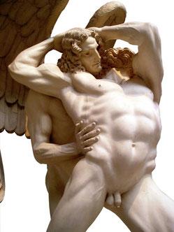 OmoGirando la Casa-Museo di Hendrik Christian Andersen - Giacobbe e l'angelo