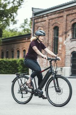 Wie viele Kalorien verbrenne ich auf dem e-Bike?
