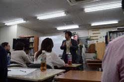 名古屋でのトークライブの模様