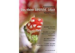 """Valerie Forster, Ausstellung: """"Das kleine GROSSE Glück"""""""