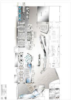 Bachlauf ca. 50.000 Liter Dehner Zentrale