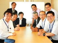 産総研・情報・人間工学領域、テクノベーション・コンサルティンググループ幹部メンバーとともに。