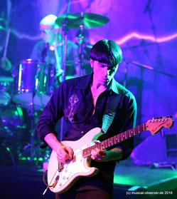 Vorzüglich: Mark Zyk an der Gitarre.
