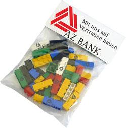 Legosteine bedruckt