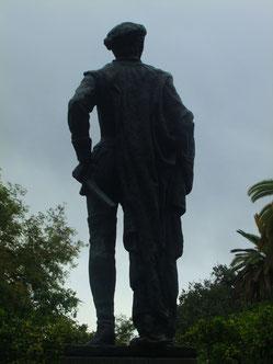 Estatua de don Juan Tenorio en la Plaza de los Refinadores. ©María Sánchez Mellado