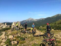 Randonnée VTT Pyrénées
