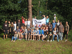 Die erste Sommerferiengruppe 2017.  Foto: Claudia Günther