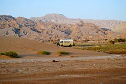 Am Persischen Golf (ca. 45°C; Iran)