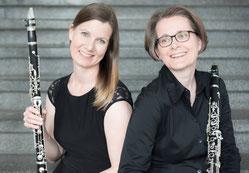 Ines Schmitz-Hertzberg und Gudrun Schumacher