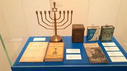 Exponate aus dem Jüdischen M useum Westfalen in Dorsten