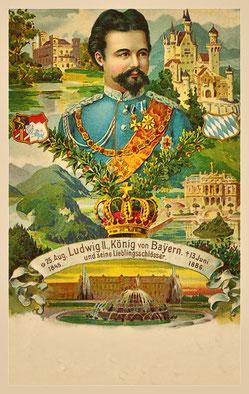 Ludwig II. Otto Friedrich Wilhelm von Wittelsbach, König von Bayern