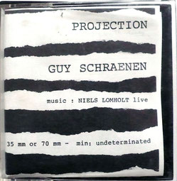 Projection 1982-02-00, Guy Schraenen Film Projection