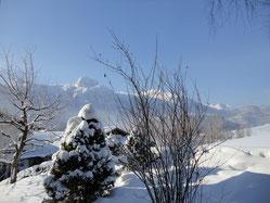 Winterurlaub Zimmerblick