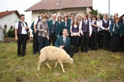 Die glücklichen Gewinner des Hammels in 2009