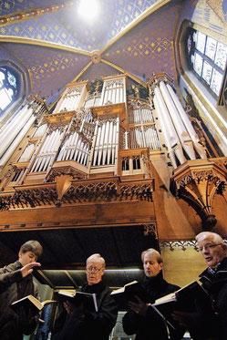 Die Choralschola in der Basilika