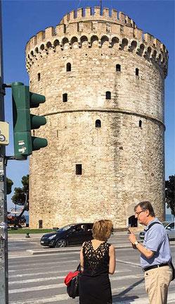 Thessaloniki, Weißer Turm, Judentum, Yiannis Boutaris, David Saltiel