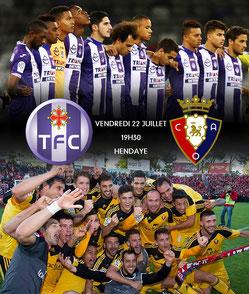 Match amical TFC- Osasuna - Eglantins d'Hendaye