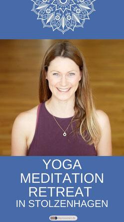 4 Tage Yoga und Meditation Retreat in Stolzenhagen