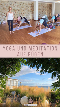 Insel Yoga Retreat Sommer 2020 - Yoga & Meditation mit Kerstin Linnartz auf Rügen im Kornspeicher Mauritz