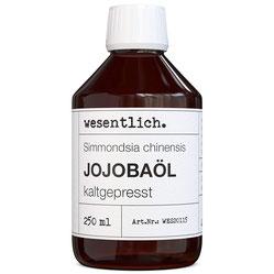 Jojobaöl kaltgepresst reines Öl (Simmondsia chinensis) von wesentlich.