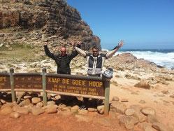Ziel erreicht: Cape Hope