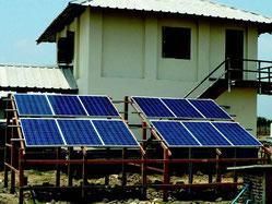 Stromversorgung Krankenstation - SOLARA