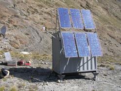 Stromversorgung Wetterstation - SOLARA