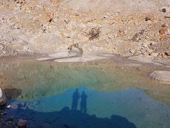 Ein Schmelzwassersee