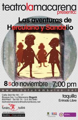 Las aventuras de Herculano y Sandalio