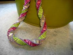 Stabspirale mit Material der Variante 2