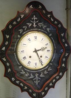 """Wanduhr Original Oeil-de-Boeuf """"Ochsenauge"""" Frankreich ca.1820"""