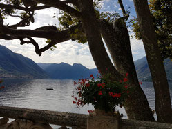 the terrace at villa del balbianello, Lake Como