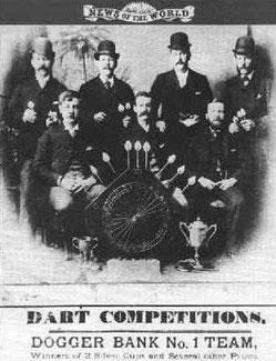 Dart um 1900