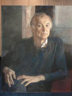 """Единственный живописный портрет И. Смоктуновского.  """"АиФ.Европа"""", фото из архива Г.Шишкина"""